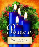 Advent Sunday 4 Blue Bulletins, Large Size (Package of 50)