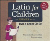 Latin For Children, Primer A DVD Set  - Slightly Imperfect