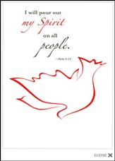 My Spirit Pentecost Bulletins (Package of 50)