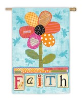 Faith Flower Flag, Large