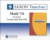 Saxon Teacher for Math 7/6, Fourth Edition on CD-Rom