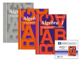 Saxon Algebra 1 Homeschool Kit & Saxon Teacher CD-ROMs, Third Edition
