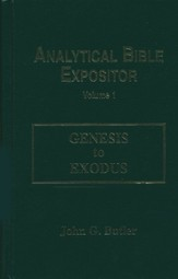 Genesis-Exodus: Analytical Bible Expositor