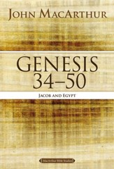 Genesis 34 to 50: Jacob and Egypt - eBook