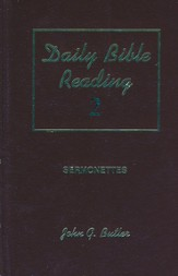 Daily Bible Reading 2: Sermonettes