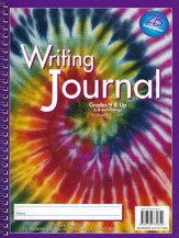 Zaner-Bloser Newsprint Writing Journal, Swirling Tie-Dye Grades 4+
