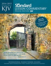 KJV Standard Lesson Commentary 2014-15, Deluxe Edition with eCommentary