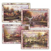 Thomas Kinkade Birthday Cards