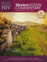 NIV Standard Lesson Commentary 2015-16, Large Print Edition