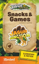 VBS 2014 Jungle Safari: Where Kids Explore the Nature of God! Snacks & Games Leader's Cards: Elementary & PreTeen