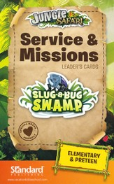 VBS 2014 Jungle Safari: Where Kids Explore the Nature of God! Service & Missions Leader's Cards: Elementary & PreTeen