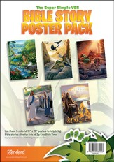 VBS 2014 Jungle Safari: Where Kids Explore the Nature of God! Bible Story Poster Pack