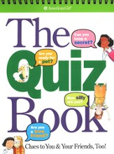 The Quiz Book: Clues to You & Your Friends, Too!