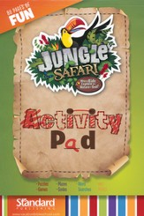 VBS 2014 Jungle Safari: Where Kids Explore the Nature of God! Activity Pad