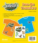 VBS 2014 Jungle Safari: Where Kids Explore the Nature of God! Iron-On Transfers