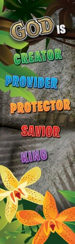 VBS 2014 Jungle Safari: Where Kids Explore the Nature of God! Bookmarks