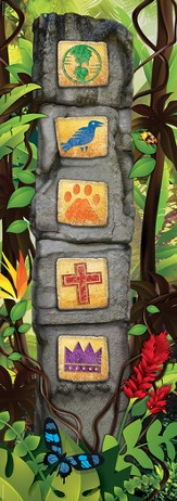 VBS 2014 Jungle Safari: Where Kids Explore the Nature of God! Giant Ancient Pillars