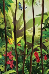 VBS 2014 Jungle Safari: Where Kids Explore the Nature of God! Jungle Vines Wall Mural