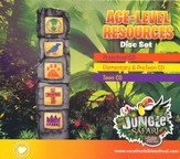 VBS 2014 Jungle Safari: Where Kids Explore the Nature of God! Age-Level Resources Disc Set