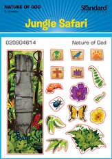 VBS 2014 Jungle Safari: Where Kids Explore the Nature of God! Nature of God Stickers