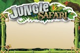 VBS 2014 Jungle Safari: Where Kids Explore the Nature of God! Jungle Name Tag Cards