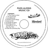 VBS 2014 Jungle Safari: Where Kids Explore the Nature of God! Pass-Along Music CD - pack of 10