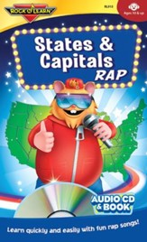 States & Capitals CD & Book