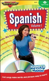Spanish Volume 1 CD & Book