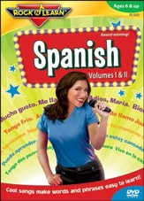 Spanish Volumes 1 & 2 DVD