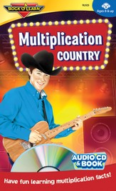 Multiplication Country CD & Activity Book