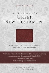A Reader's Greek New Testament: Third Edition / Special edition - eBook
