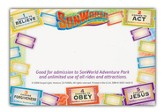 SonWorld Adventure Name Tag, package of 50