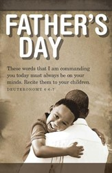 Father and Son Father's Day Bulletin 2015, Regular (Package of 50)