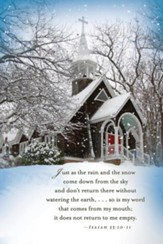 Church Winter Bulletin, Pack of 50