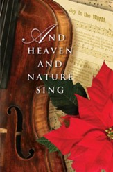 And Heaven and Nature Sing Christmas Music Bulletin 2014, Regular (Package of 50)