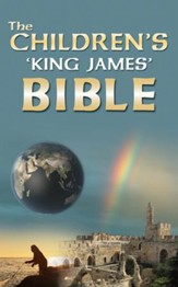 Children's 'King James' Bible - Slightly Imperfect