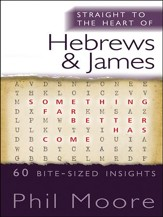 Straight to the Heart of Hebrews and James: 50 bite-sized insights - eBook