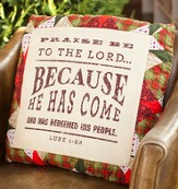 Praise Be to the Lord Christmas Pillow