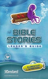 Deep Sea Discovery VBS: Bible Stories Leader's Guide for Elementary & Preteen