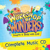 2014 VBS Workshop of Wonders: Imagine a Build with God - Complete Music CD
