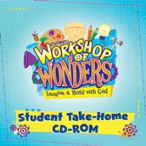 2014 VBS Workshop of Wonders: Imagine a Build with God - Student Take Home CD-ROM - Slightly Imperfect