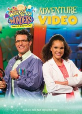 2014 VBS Workshop of Wonders: Imagine a Build with God - Adventure Video DVD/CD-ROM for Assembly Time