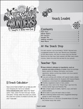 2014 VBS Workshop of Wonders: Imagine a Build with God - Snack Leader