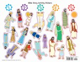 2014 VBS Workshop of Wonders: Imagine a Build with God - Bible Story Activity Stickers