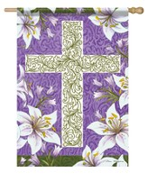 Easter Cross Flag, Large