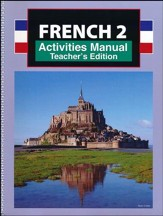 French 2, Student Activities Teacher's Edition