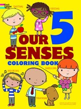 Our 5 Senses Coloring Book