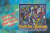 VBS 2014 Praise Break: Celebrating the Works of God! - Pack of 25 Invitation Postcards