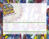 VBS 2014 Praise Break: Celebrating the Works of God! - Pack of 24 Nametags