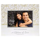 Our Anniversary, A Lifetime of Love Photo Frame